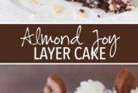 Almond Joy Layer Cake Recipe