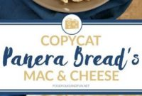 Copycat Panera Bread's Mac & Cheese Recipe