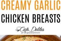 Creamy Garlic Chicken Breasts Recipe