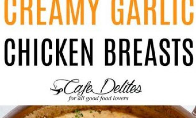Creamy Garlic Chicken Breasts Recipe