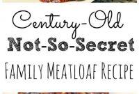 Not-So-Secret Family Meatloaf Recipe