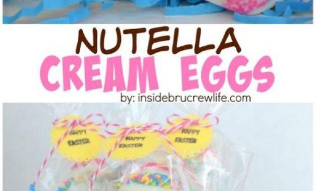 Nutella Cream Eggs Recipe