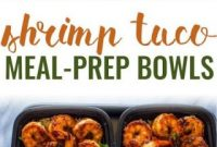 Shrimp Taco Meal Prep Bowls Recipe