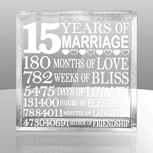 15 Year Anniversary Gift Ideas For Him  15th Anniversary Gifts Amazon