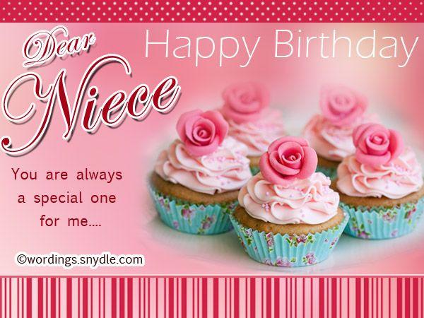 1St Birthday Wishes For Niece  Niece Birthday Messages Happy Birthday Wishes for Niece