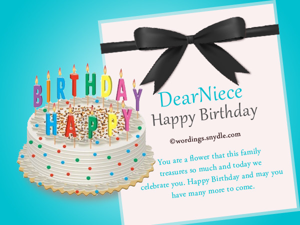 1St Birthday Wishes For Niece  Top 50 Birthday Wishes for Your Niece – Birthday Quotes