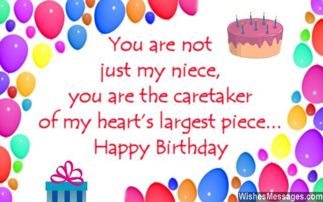 1St Birthday Wishes For Niece  Happy Birthday To My Niece Quotes Sayings Greetings