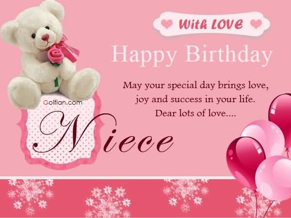 1St Birthday Wishes For Niece  35 Popular Birthday Wishes For Niece – Latest Funny