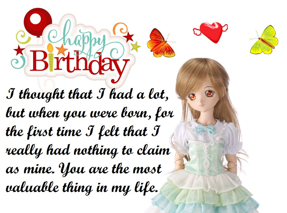 1St Birthday Wishes For Niece  50 Niece Birthday Quotes and