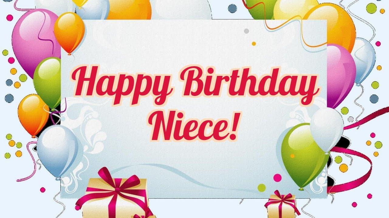 1St Birthday Wishes For Niece  Happy Birthday Niece