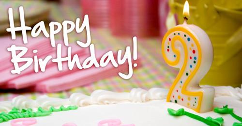 2 Year Old Birthday Quotes  Happy Second Anniversary Mama Miyuki