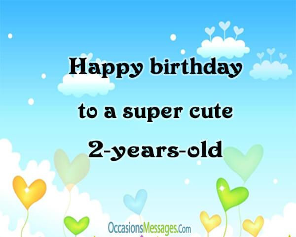 2 Year Old Birthday Quotes  2nd Birthday Wishes Birthday Messages for Baby Turns Two