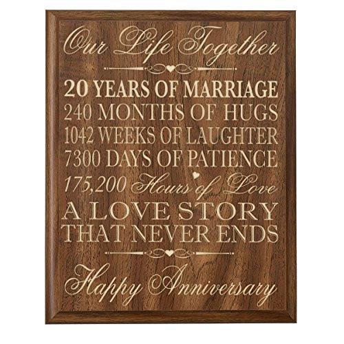 20 Anniversary Gift Ideas  20 Year Anniversary Gifts Amazon
