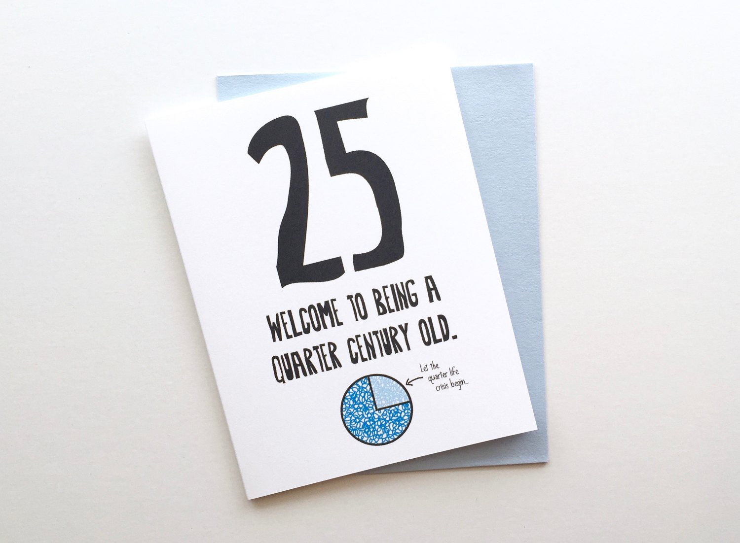 25Th Birthday Funny  Funny Honest 25th Birthday Card 25th Birthday Card