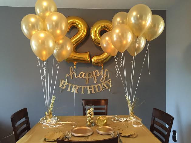29Th Birthday Party Ideas  How to Celebrate a Golden Birthday