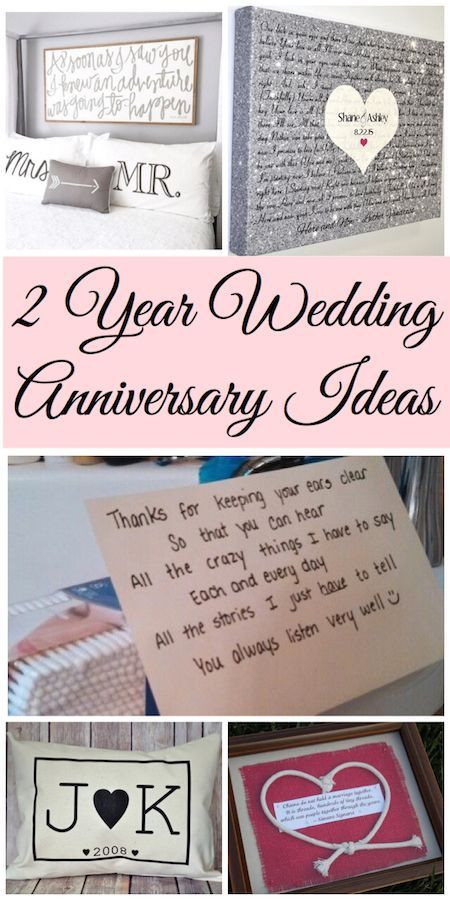 2Nd Wedding Anniversary Gift Ideas For Her  2 Year Anniversary Gift Ideas Celebrate Today