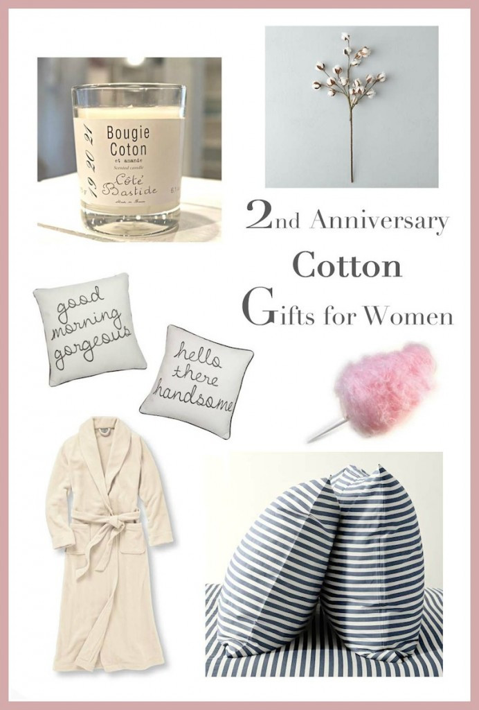 2Nd Wedding Anniversary Gift Ideas For Her  2nd Anniversary Gifts for Her — Runway Chef