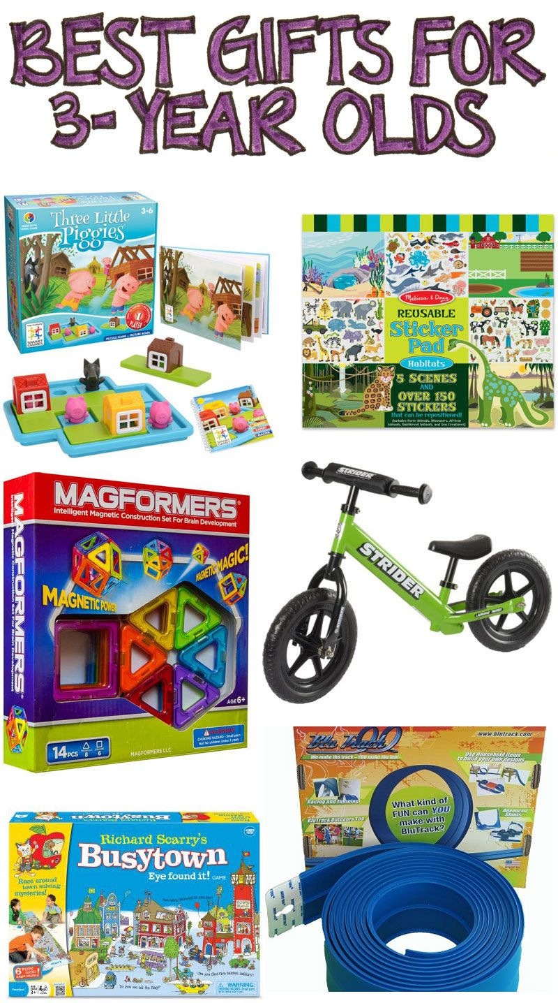 3 Year Old Birthday Gift Ideas  Best Gifts for 3 Year Olds