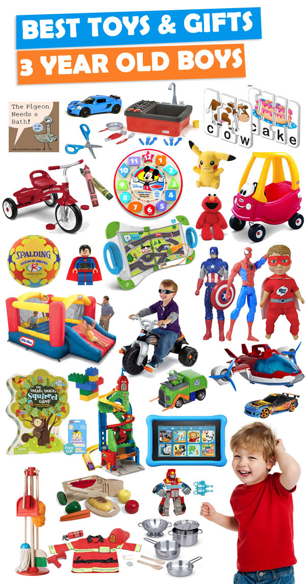 3 Year Old Birthday Gift Ideas  Best Gifts And Toys For 3 Year Old Boys 2018