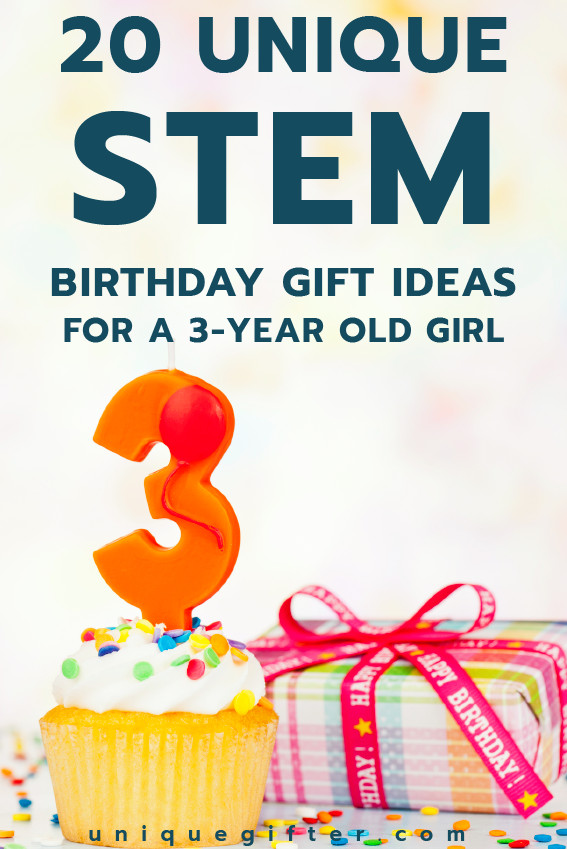 3 Year Old Birthday Gift Ideas  20 STEM Birthday Gift Ideas for a 3 Year Old Girl Unique
