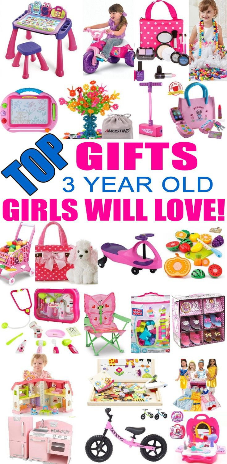 3 Year Old Birthday Gift Ideas  Best Gifts for 3 Year Old Girls