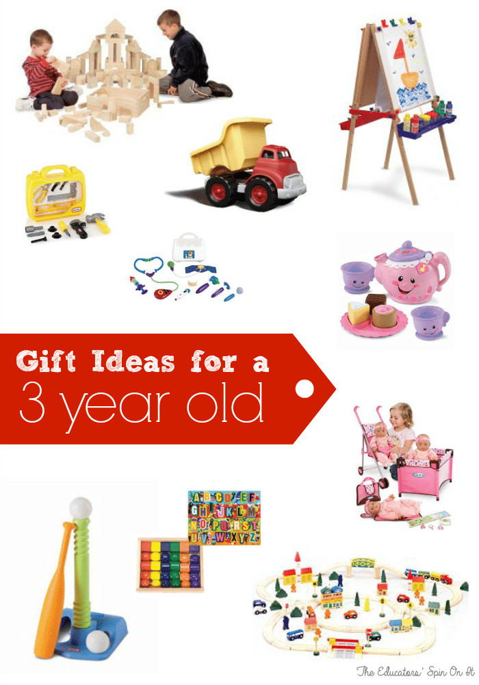3 Year Old Birthday Gift Ideas  Birthday Gift Ideas for Three Years Old The Educators