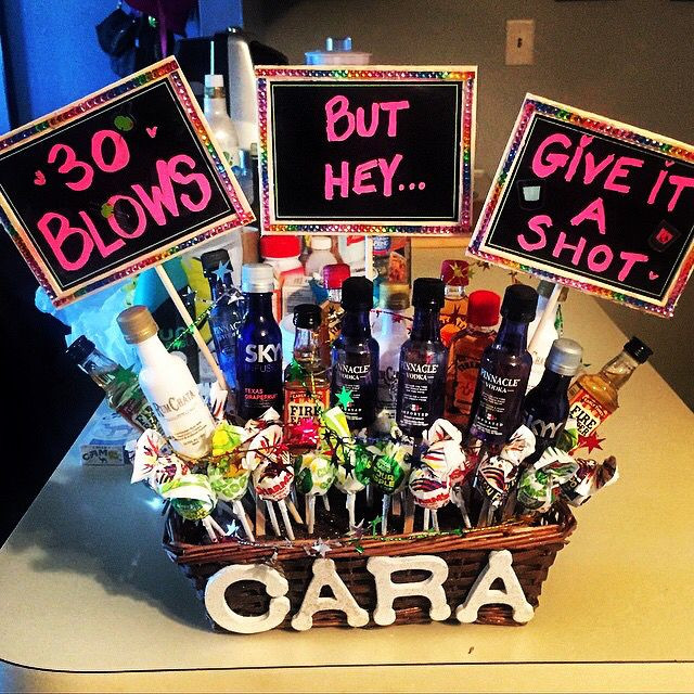 30Th Birthday Gift Ideas  30 blows but hey give it a shot I decided to crafty