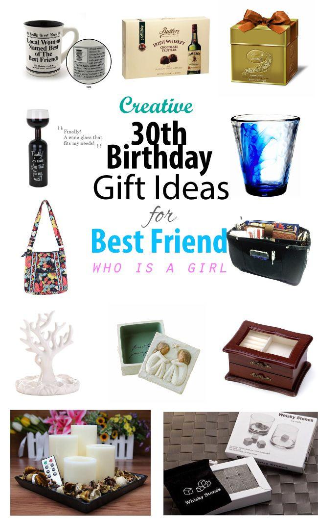 30Th Birthday Gift Ideas  Creative 30th Birthday Gift Ideas for Female Best Friend