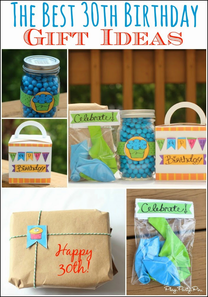 30Th Birthday Gift Ideas  30 Creative 30th Birthday Gift Ideas for Him that He Will