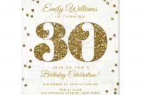 30th Birthday Invitations Templates Free New 30th Birthday Invitations Templates Free Printable