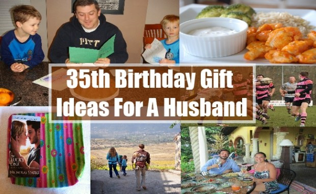 35Th Birthday Gift Ideas For Him  35th Birthday Gift Ideas For A Husband