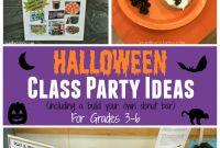 3rd Grade Halloween Party Ideas Inspirational Halloween Class Party Ideas for Grades 3 6 Joy In the Works