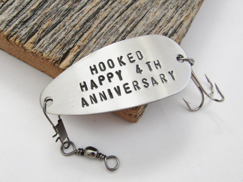 4 Year Wedding Anniversary Gift Ideas For Him  4th Anniversary Gift for Him 4 Year Anniversary Fourth Wedding