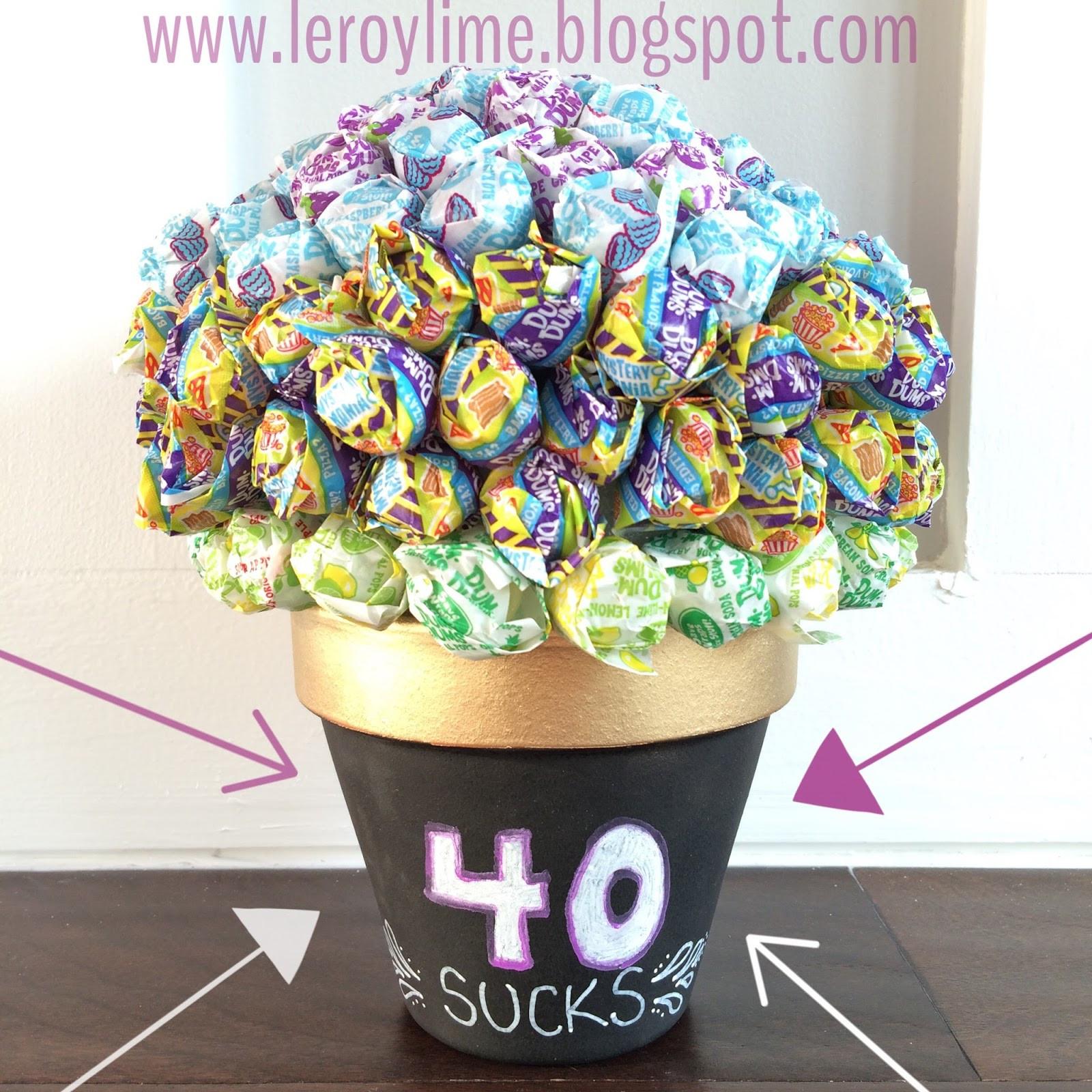 40 Birthday Gift Ideas  LeroyLime 40th Birthday Gift Idea