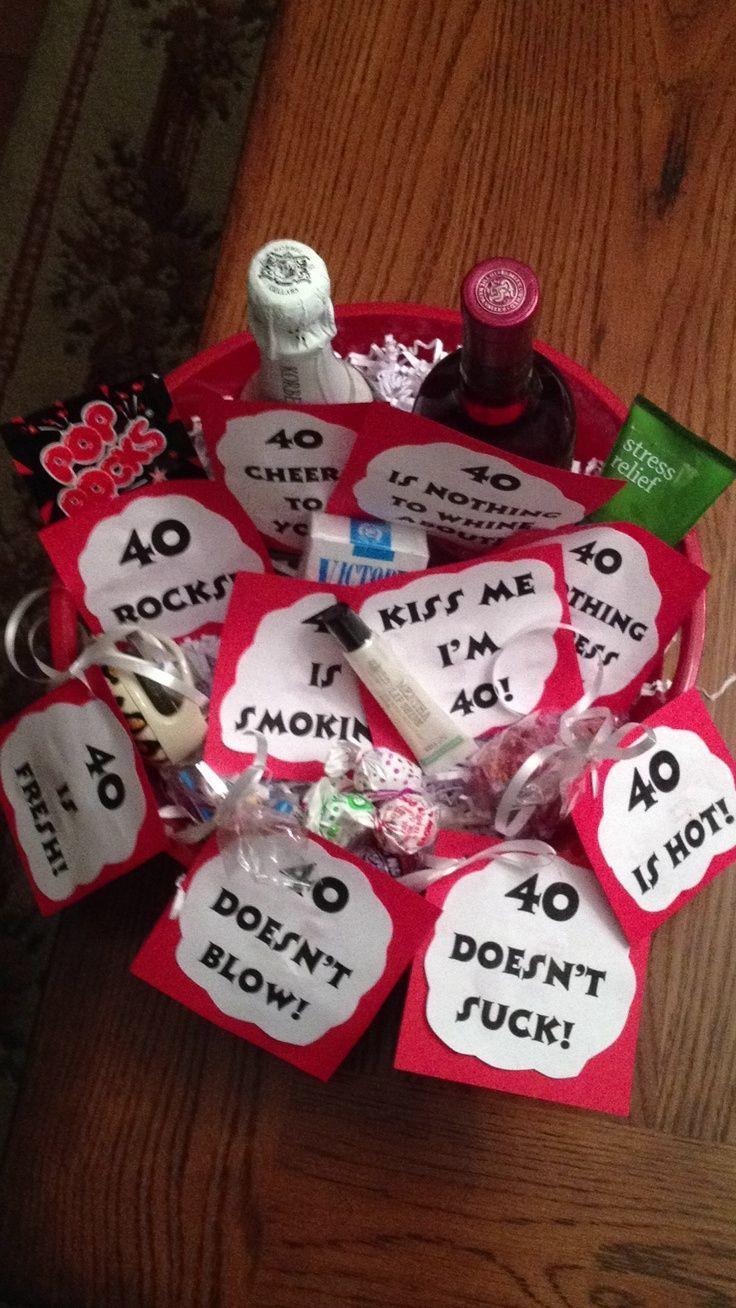40 Birthday Gift Ideas  25 best ideas about 40 Birthday Gifts on Pinterest