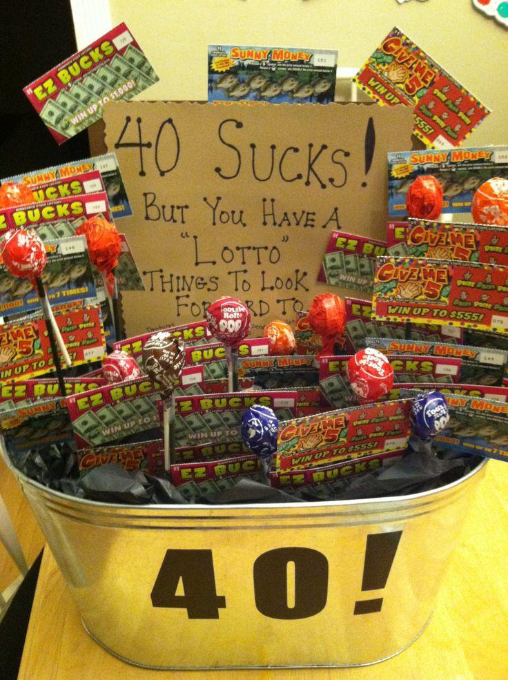 40 Birthday Gift Ideas  Best 25 40th birthday ideas on Pinterest