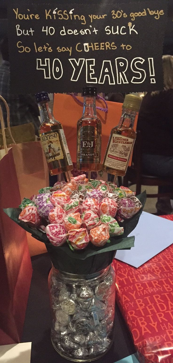 40 Birthday Gift Ideas  Best 25 40th birthday presents ideas on Pinterest