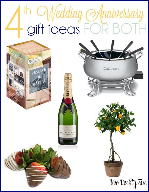4Th Anniversary Gift Ideas  4th Anniversary Gift Ideas