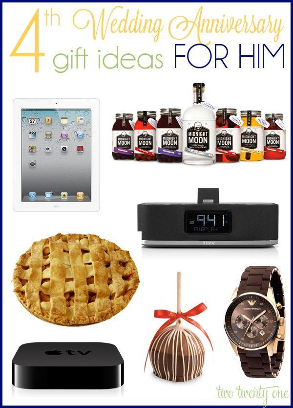 4Th Anniversary Gift Ideas  Best 25 4th anniversary ts ideas on Pinterest