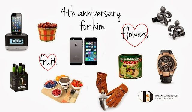 4Th Anniversary Gift Ideas  4th anniversary t ideas for husband