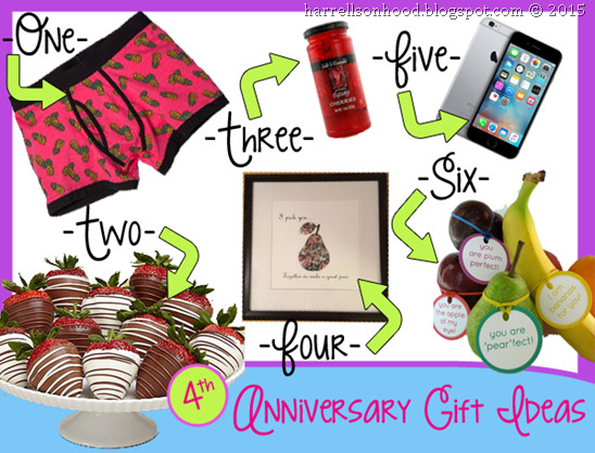4Th Anniversary Gift Ideas  4th fourth anniversary t ideas traditional ts for