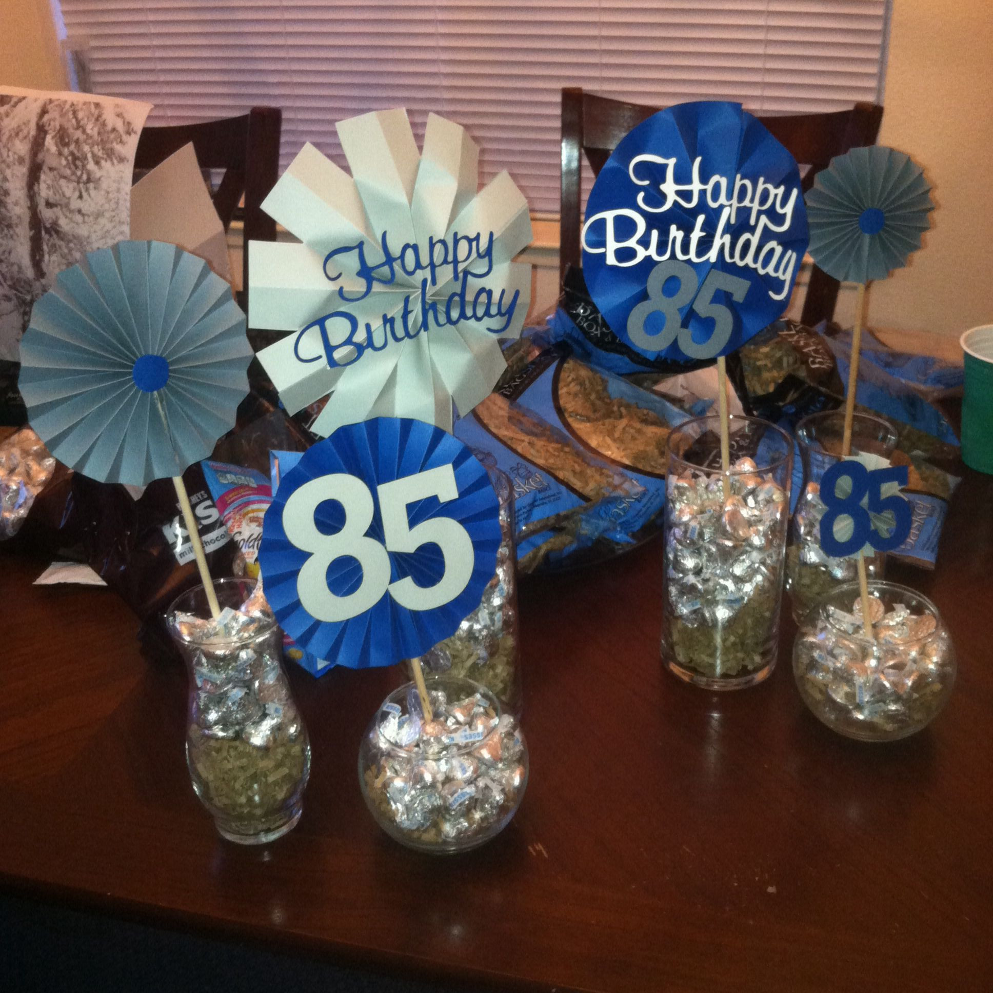 85Th Birthday Decorations  Grandpa a 85th Birthday party easypeasybynoeeazy