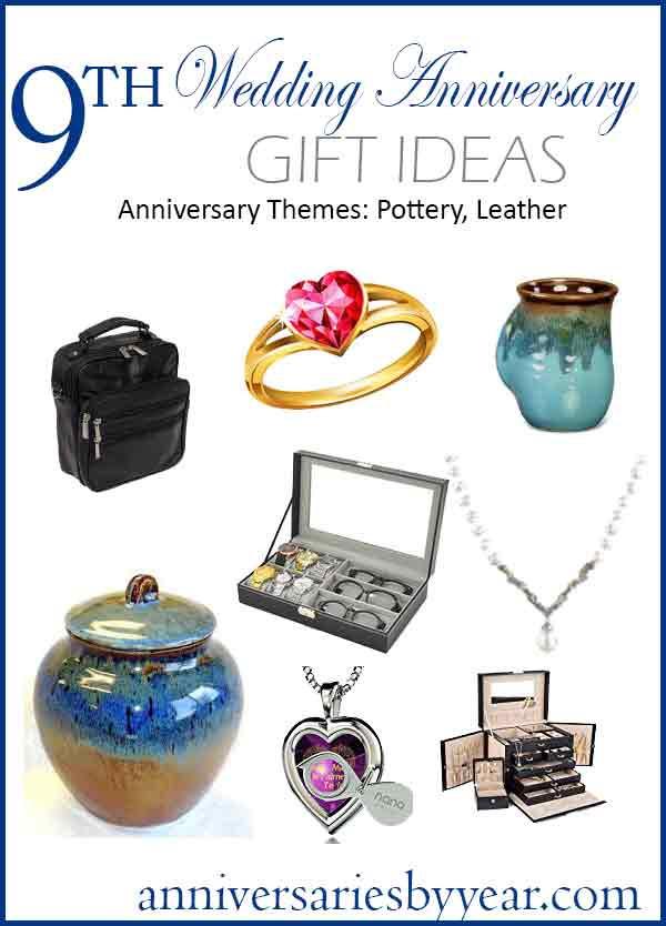 9Th Wedding Anniversary Gift Ideas  9th Anniversary Ninth Wedding Anniversary Gift Ideas