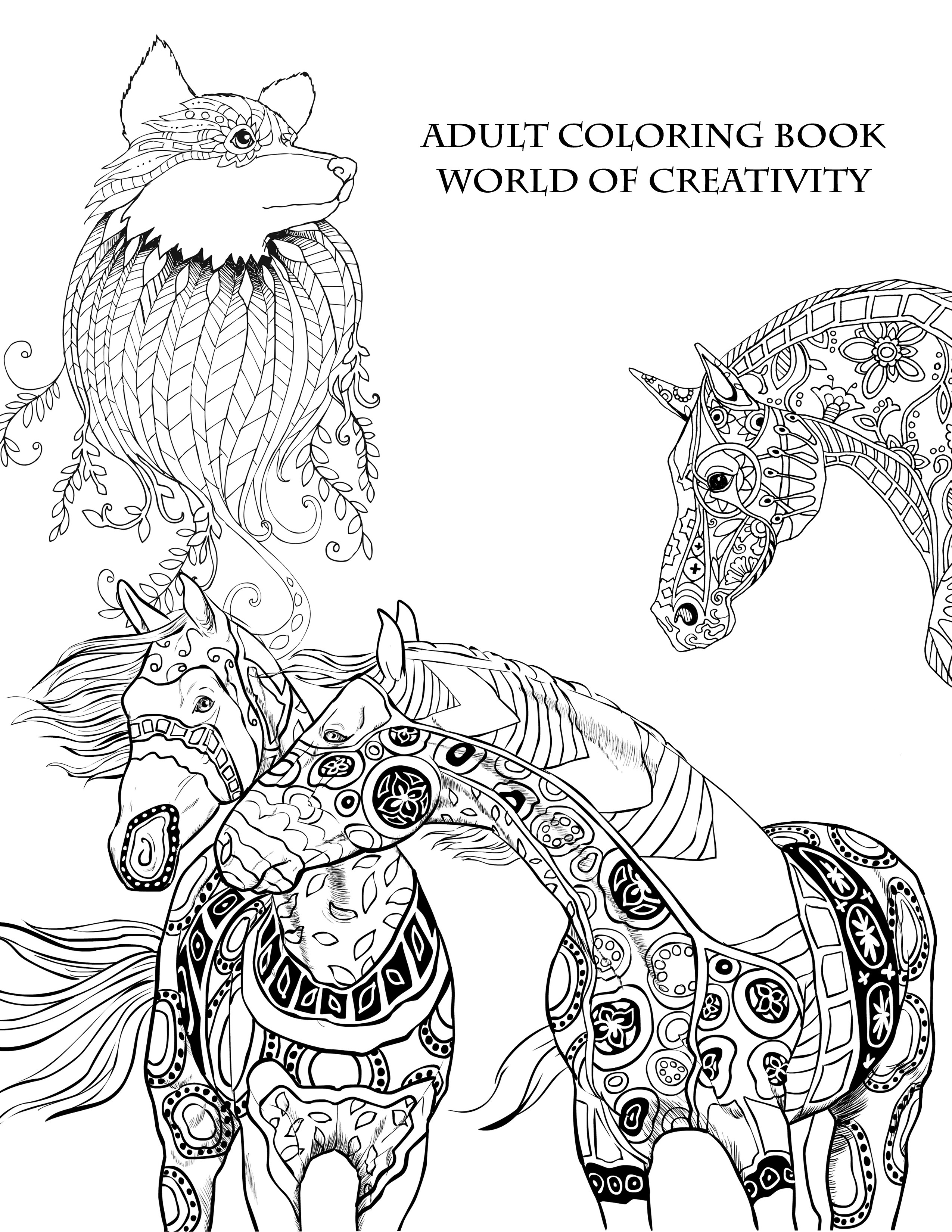 Adult Coloring Book Download  Download