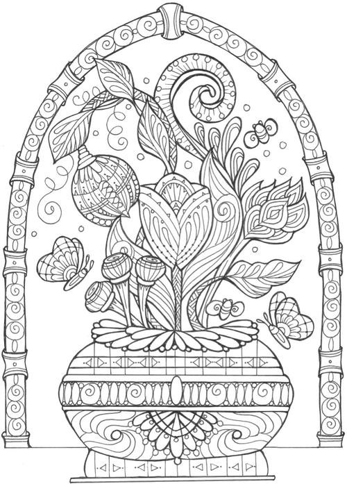 Adult Coloring Book Download  43 Printable Adult Coloring Pages PDF Downloads