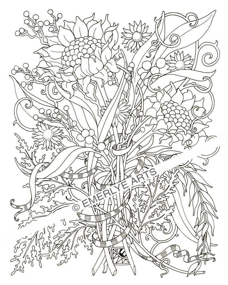 Adult Coloring Book Download  free coloring pages for adults