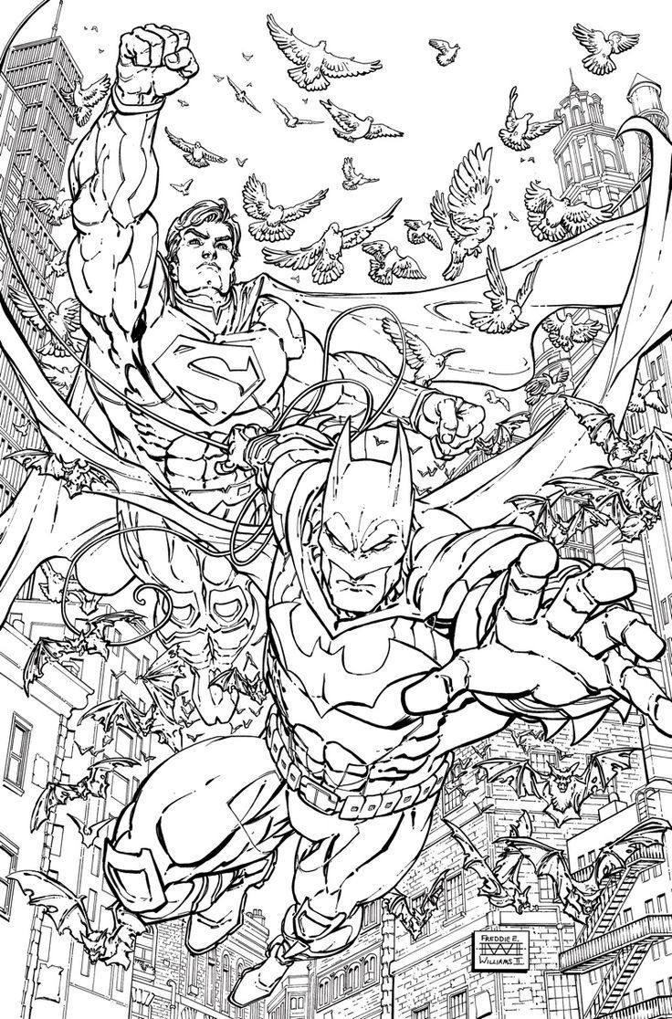 Adult Superhero Coloring Book  Image result for halloween adult coloring