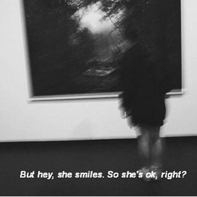 Aesthetic Sad Quotes  aesthetic black and white depression explore grunge