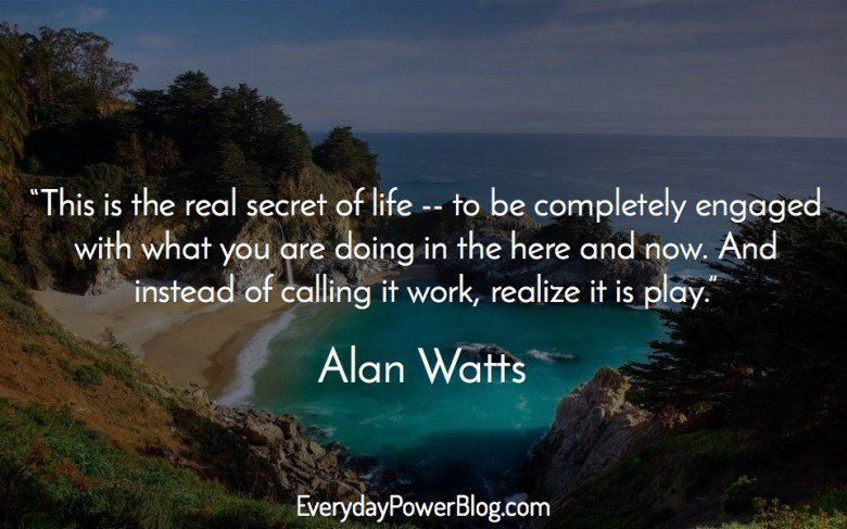 Alan Watts Quotes About Life  Alan Watts Quotes About Life Love and Dreams That Will