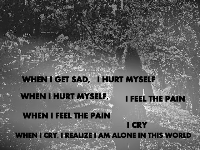 Alone Quotes Sad  Alone Girl Sad Quotes shubhz Quotes